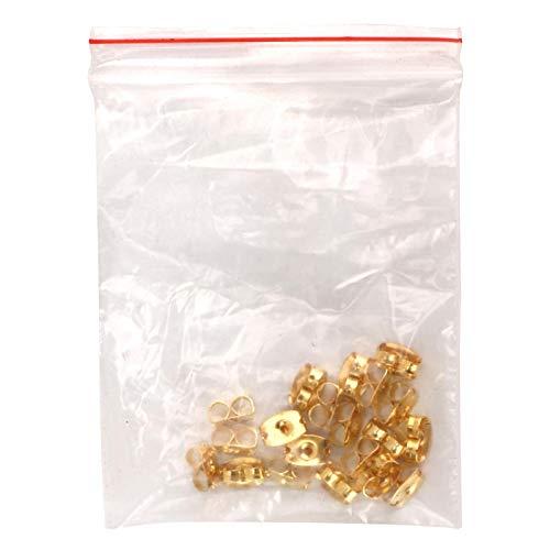Earnuts de metal, resistentes al desgaste, para evitar que los pendientes se pierdan, para joyería
