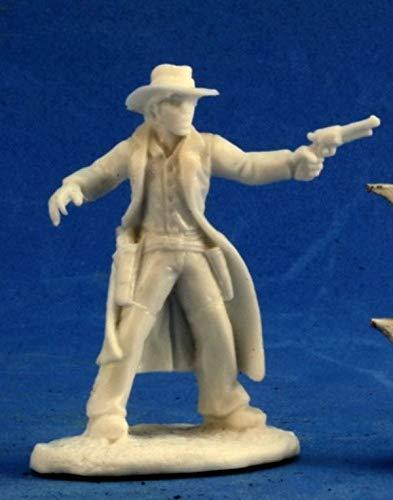 Pechetruite 1 x Texas Ranger - Reaper Bones Miniatura para Juego de...