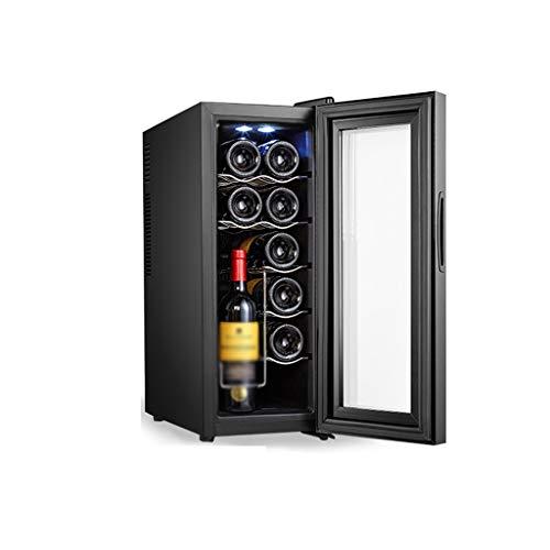 hanzeni Vinoteca para Vertical, Almacenamiento De Humedad Y Temperatura Constante, Pantalla LED, Talla Única, Negro