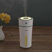 Jali Air Purifier & Cleaner Air Humidifier Purifier 300ML Mini Portable Cup Shape USB LED Night Light Ultrasonic Humidific...