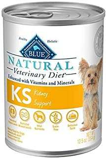 Blue Natural Veterinary Diet KS Kidney Support Grain-Free Canned Dog Food 6/12.5 oz