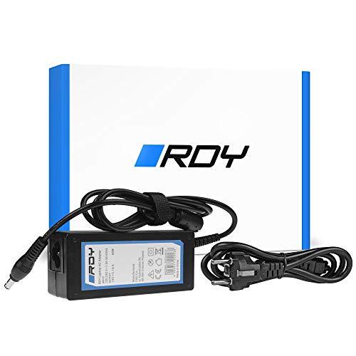 RDY 60W 19V 3.16A Cargador para Portátil Samsung R519 R719 RV510 NP270E5E NP275E5E NP300E5A NP300E5E NP300E5C NP300E7A Ordenador Fuente de Alimentación Adaptador Connector: 5.0 x 3.0mm