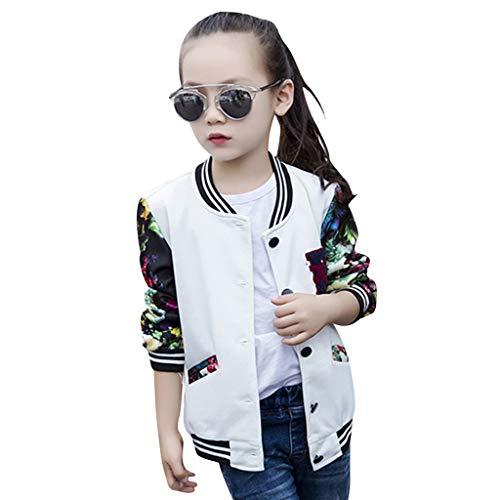 Julhold tiener kinderen baby meisjes mode knappe honkbal jas lange mouw katoen print streep jas bovenkleding 3-13 jaar