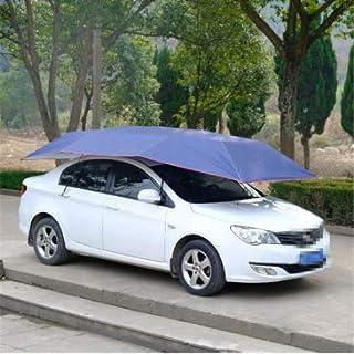 Shrinika Portable Semi-Automatic Car Umbrella Tent Waterproof Anti UV 400x210cm