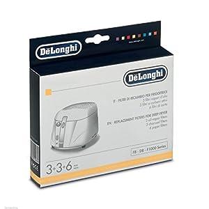 Kit filtros filtro freidora de Longhi 5525101500F8–D8–F1000Series