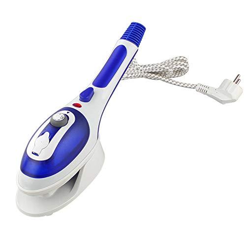 Pengtri Handheld opknoping strijkmachine multifunctionele huishoudelijke kleine elektrische ijzer draagbare stoomstrijkijzer (Color : Blue)