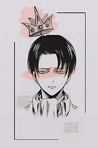 Notebook: Levi Ackerman Journal | Attack on Titan Levi Notebook for Anime Lovers | Shingeki no...