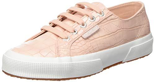 Superga 2750-syntcrocodilew, Zapatillas de Gimnasia Mujer, Rosa (Pink Quartz 940), 37 EU