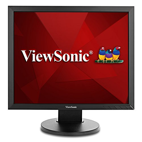 ViewSonic VG939SM 19 Inch IPS 1024p Ergonomic Monitor with DVI and VGA for Home and Office, Black