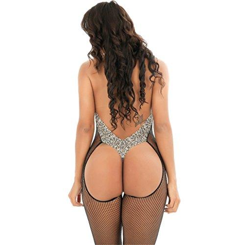 Calze autoreggenti Completi Intimi Prospettiva,Donna Bodystockings Sexy Intimo, Donne Pizzo Un Intimo Aperto Cinturino Petto Lingerie Sexy