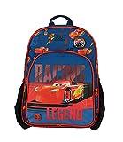 Bagtrotter - Zaino a 1 scomparto Disney Cars Mcqueen, colore: blu/nero