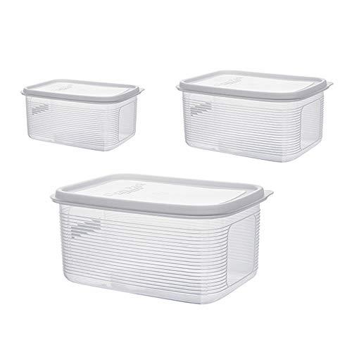 Fruit multi-grain verzegelde doos, grote capaciteit verzegeld koelkast opbergdoos opbergdoos, bestand tegen warmte en koud gemakkelijk op te slaan
