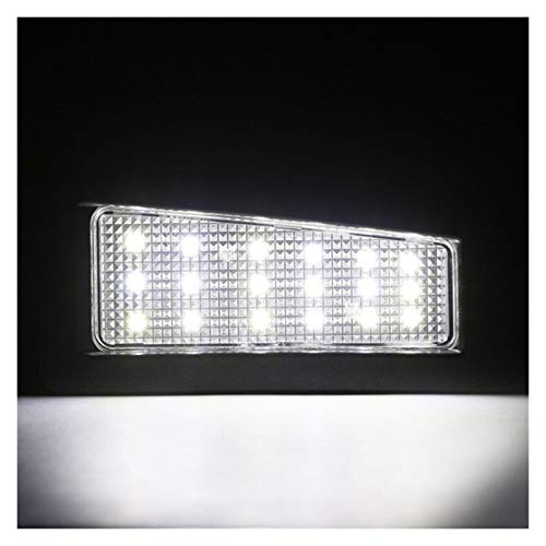LOVELY Luces de matrícula de Coche Luz de Placa LED Blanca de 12V Compatible con 2014-2018 Mazda3 2016-up Mazda CX-3 Número de Marco de Marco Powered by 36 Leds CANBUS Error Gratis Universal