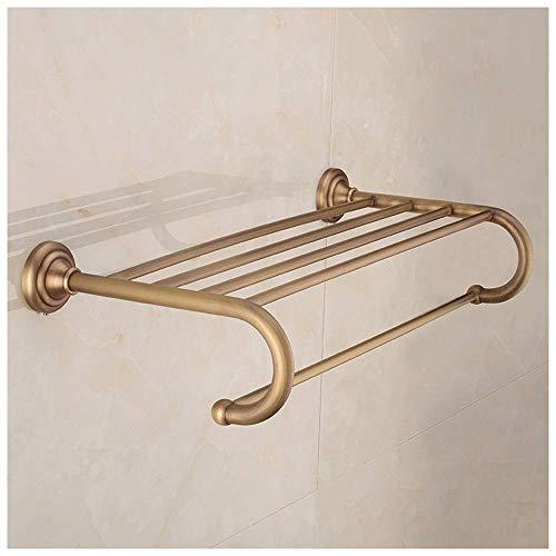 NHLBD Haili Rejilla para Guardar Toallas/Toalla Antiguo de Lujo Bastidores de Cobre toalleros joyería de los Accesorios de baño Cuarto de baño