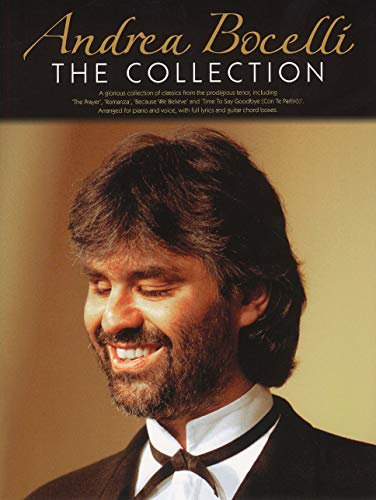 Andrea Bocelli: The Collection - New Edition. Partitions pour Piano, Chant et Guitare