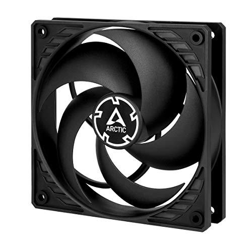 ARCTIC ACFAN00118A P12 - 120 mm Ventola per PC, Ventola Silenziosa per CPU, Ventola Ottimizzata per la Pressione Statica, Velocità 1800 RPM, 0,3 Sone - Nero, P12 Series