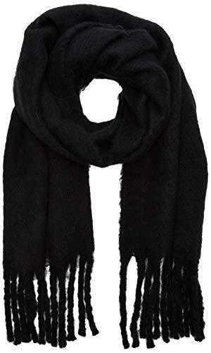 ICHI Damen IABREW SC Mode-Schal, Black, One Size
