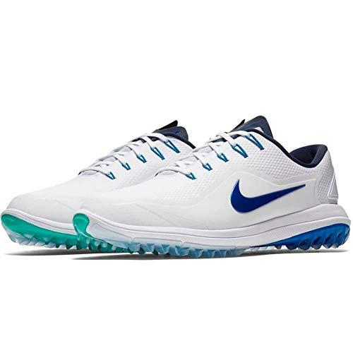Nike Lunar Control Vapor 2, Zapatillas de Golf para Hombre, Multicolor (Anthracite/White WOL 003), 43 EU