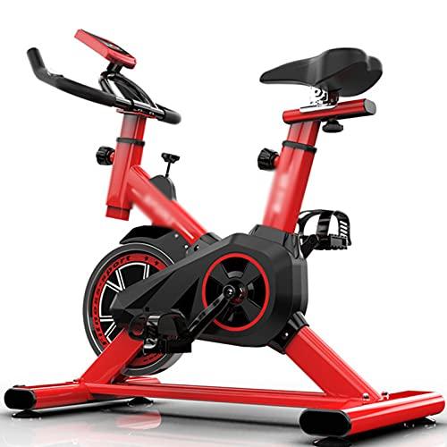 CJDM Bicicletas de Spinning, Bicicletas estáticas de Pedales para el hogar, Bicicletas de Pedales silenciosas para Interiores, Equipos de Fitness, gimnasios, Bicicletas estáticas corporativas