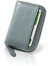 LASIEM(ラシエム) カードケース 本革 牛革 レディース メンズ じゃばら 磁気 スキミング防止 YKKファスナー 大容量 カード入れ クレジットカード RFID