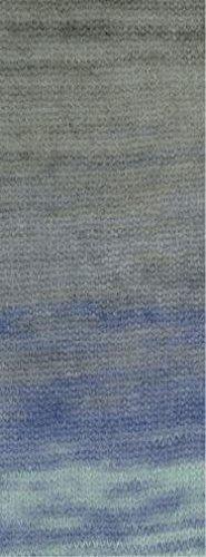 Lana Grossa Silkhair vrije kleurkeuze mohair wol met zijde 347 lichtgroen, grijs taupe