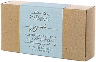 San Francisco Soap Company Moisturizing Bar, Jojoba, 10 Ounce