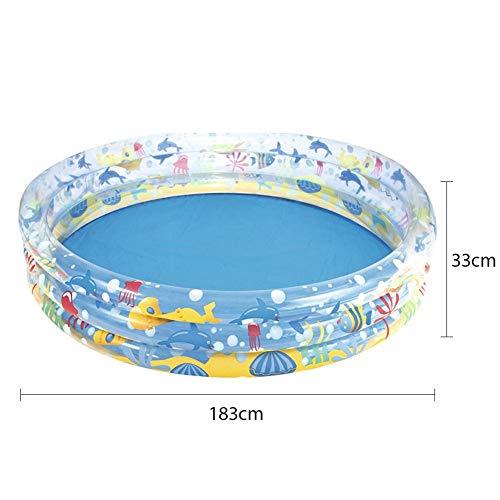 Opblaasbaar zwembad Dik kinderbad Zomer Buiten zwembad Opblaasbaar waterspeelgoed voor baby's en peuters