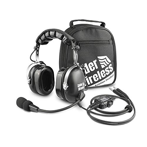 Airplane Headsets for Pilots with Dual Plug Cable