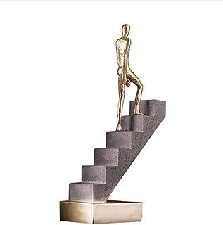 树脂 装饰品 雕塑 步行 行走的人 上楼梯 装饰 雕像 装饰性的 雕塑 办公用 酒吧 卧室 桌面 装饰风格 家用 聚会 厨房 圣诞节,A