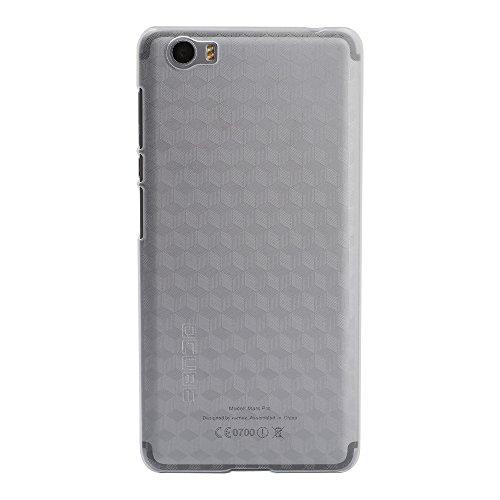 Owbb Hülle für Vernee Mars Pro Smartphone Handyhülle Ultradünne PC Kunststoff-Hard Case mit Backcover Design Hochwertige Anti-Wrestling Function Transparent
