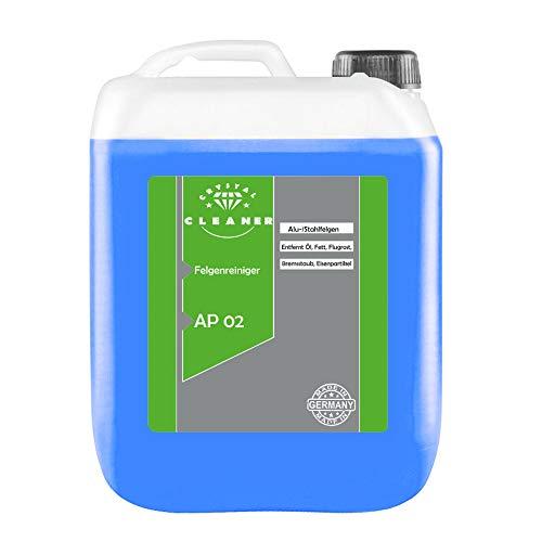 2x5 Liter Felgenreiniger AP02 für Alufelgen Stahlfelgen säurefrei