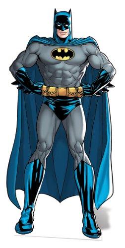 Star Einbauöffnungen SC637Batman DC Comics Pappe