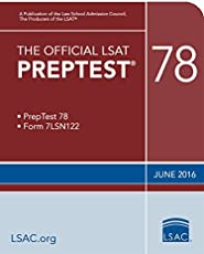 The Official LSAT PrepTest 78 (Official LSAT PrepTests)