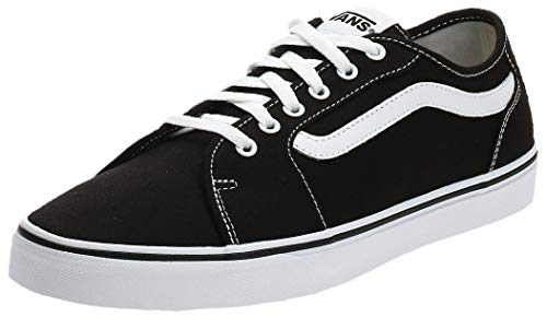 Vans Filmore Decon, Zapatillas para Hombre, Negro (Canvas) Black/White 187), 44