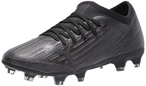 PUMA Men's Ultra 3.1 FG/AG Soccer Shoe, Black Black Black, 8