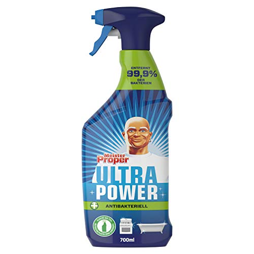 Meister Proper Ultra Power Allzweckreiniger (700 ml) Antibakteriell, entfernt 99,9% aller Bakterien