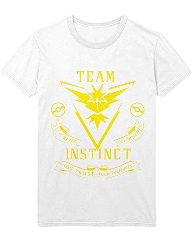 HYPSHRT T-Shirt Poke Team Instinct C123127 Weiß S