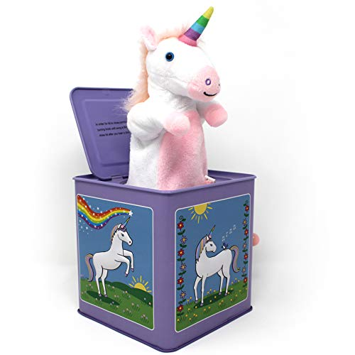 Jack Rabbit Creations Unicorn Jack in The Box Toy