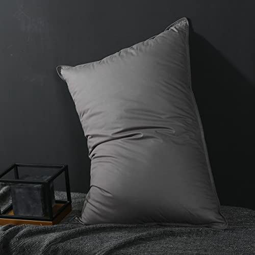 Goose Down Feather Pillow Queen Size 2 pack Bed Pillows