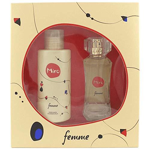 Miro Femme 2 Duftset (Eau de Parfum,50ml+Duschgel,150ml)