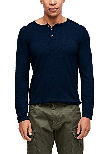 s.Oliver Herren 13.909.61.6315 Pullover, Blau (Deep Ink 5693), Large (Herstellergröße: L)