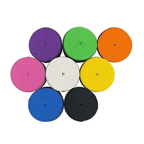 Dream HorseX 8 Stück Tennis Griffband Badminton Schläger Overgrip,Selbstklebendes Tennis Griffband mit Anti-Schweiß Technologie,für Tennisschläger, Badminton Schläger