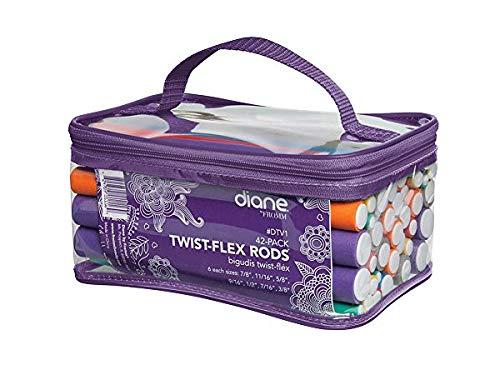 Diane 42 Pack Twist Flex Rods, 10.4 Oz