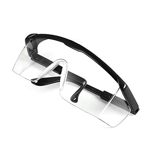 Rlevolexy Cubierta Protectora de Seguridad de protección de los vidrios Anti Saliva Gafas del Polvo Anti antiempañante a Prueba de Viento del Polvo Anti Gafas