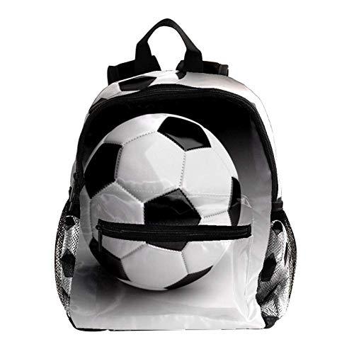 Fútbol Mochila para niños Mochila Escolar Ligera Impresión Completa para niños en...