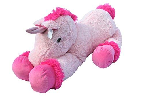 XXL Einhorn Plüschtier ca. 110 cm große Kuscheltier rosa pink Stofftier