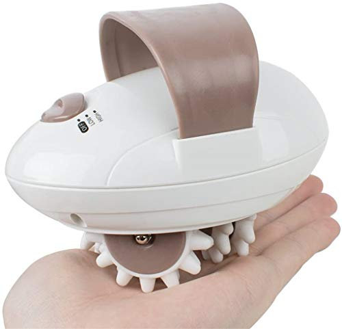 Handheld Full Body Massager,3D Roller Mini Fat Burn Massage Machine for Face, Arm, Hand, Neck, Foot and Body (US Plug)