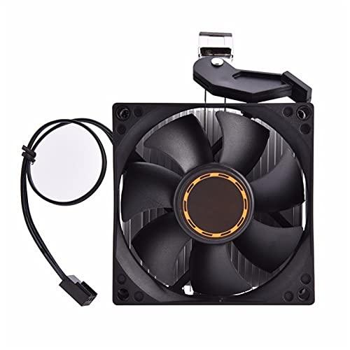 Ventilador de caja de PC, 1pcs 80 * 80 * 25mm Computador CPU refrigerador de enfriamiento Fan silencioso, disipador de calor para K8 Series 754 939 940 Procesador AMD Athlon 64 5200 disipador de calor