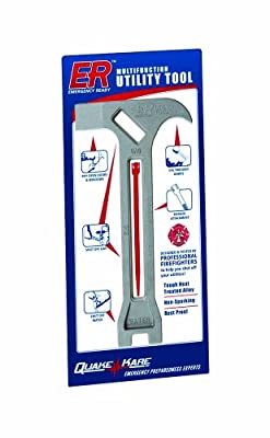 ER Emergency Ready 4-in-1 Survival Tool from Quake Kare
