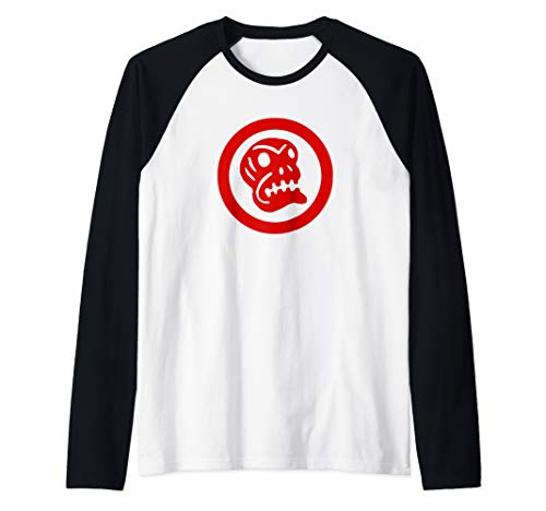 Oingo Boingo Skull Logo Raglan Baseball Tee
